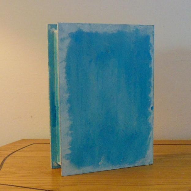 Box - Steampunk Design Book Style Memory Box