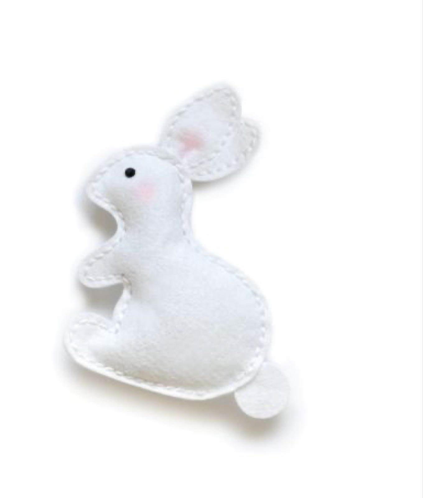 Memory box plush spring bunny