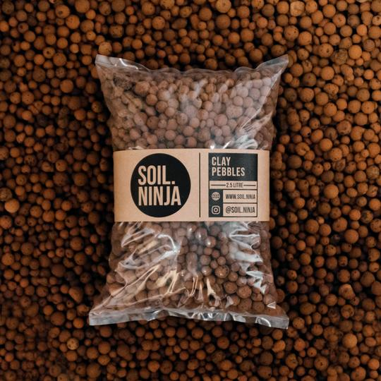 Soil Ninja: clay pebbles (2.5L)