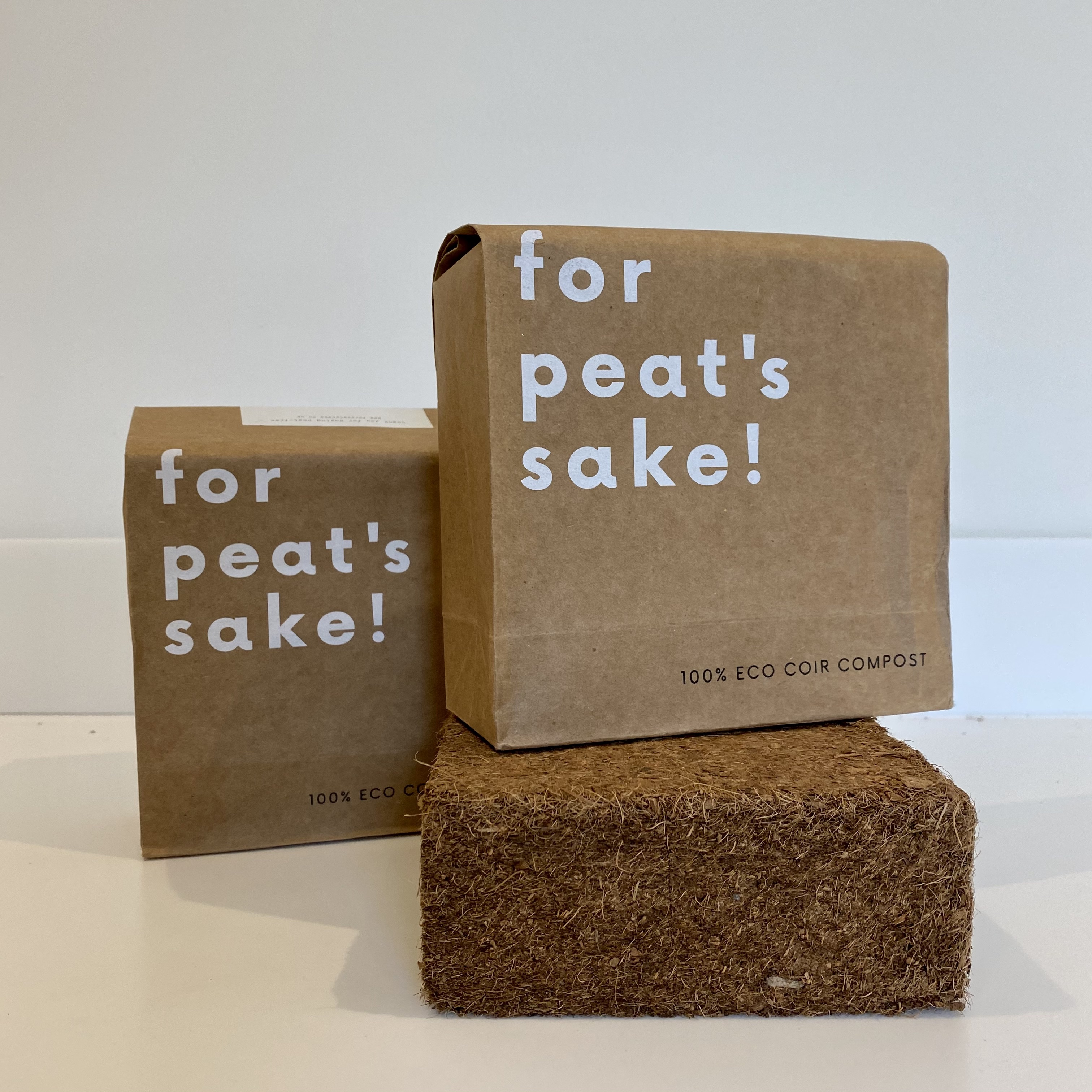 For Peat's Sake 100% eco coir compost (11L)