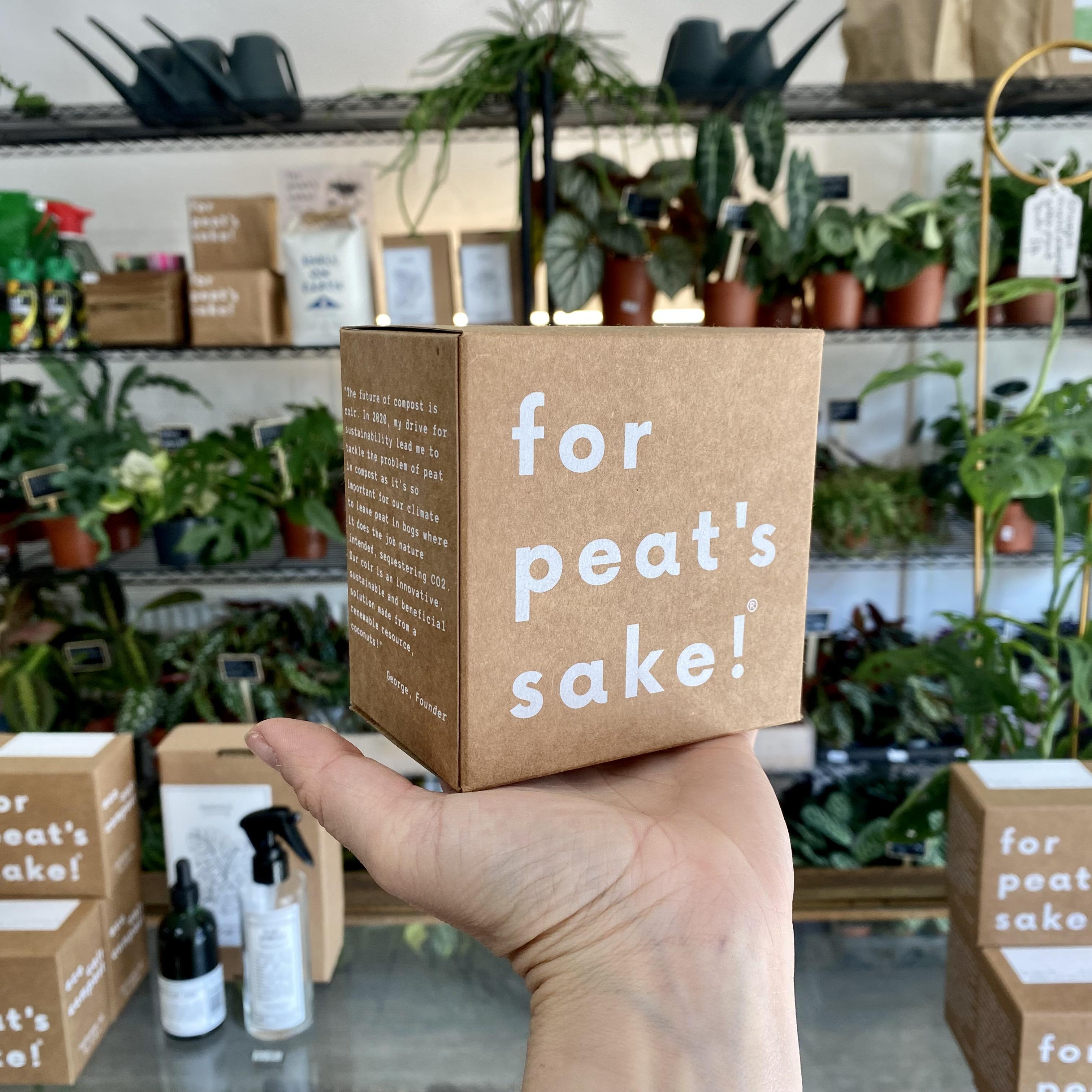 For Peat's Sake 100% eco coir compost (3L)