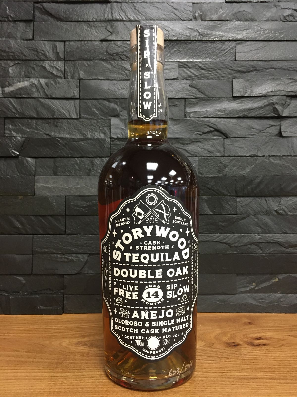 Storywood Tequila Double Oak Cask Strength 70cl