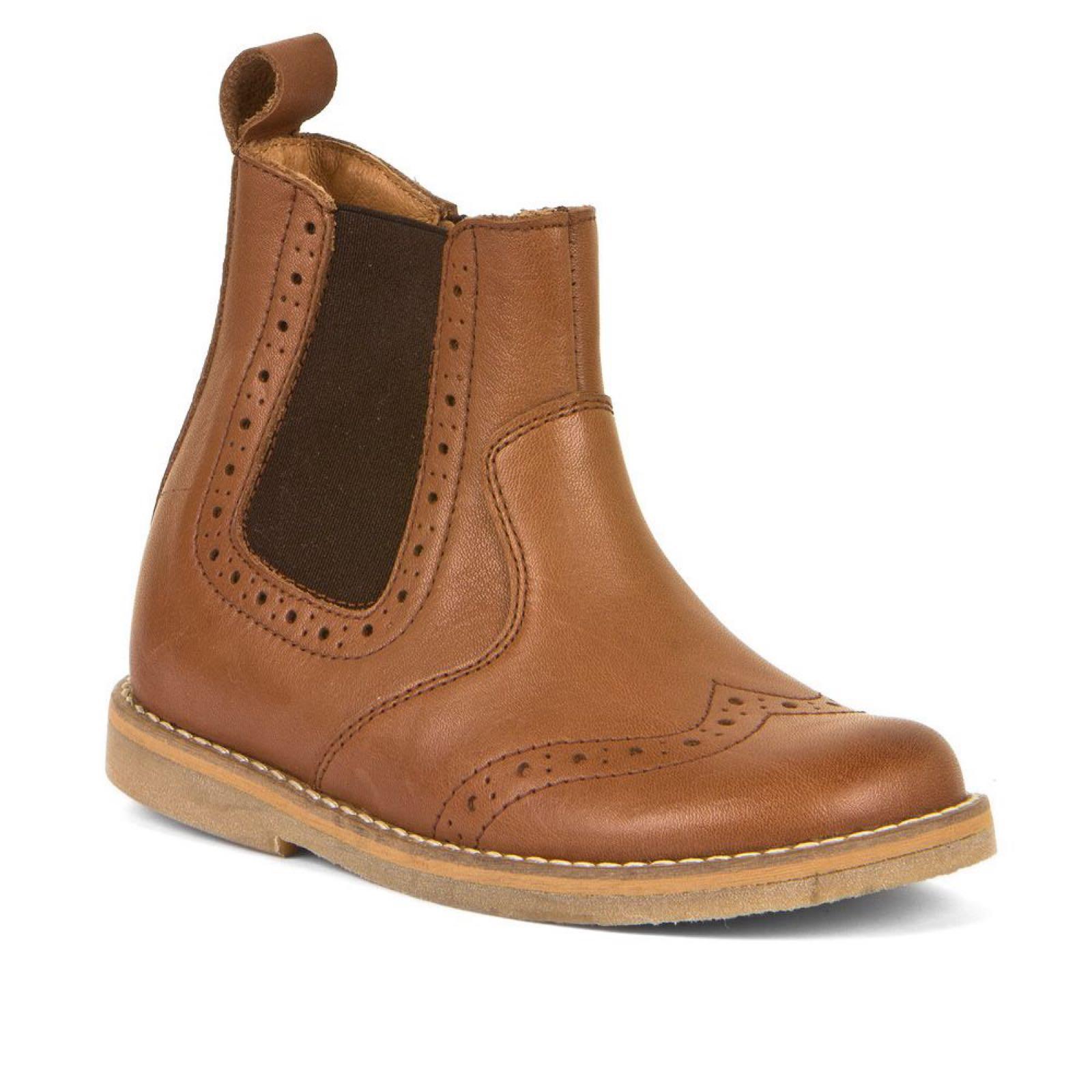 FRODDO Chelsea Boots Cognac G3160142-7