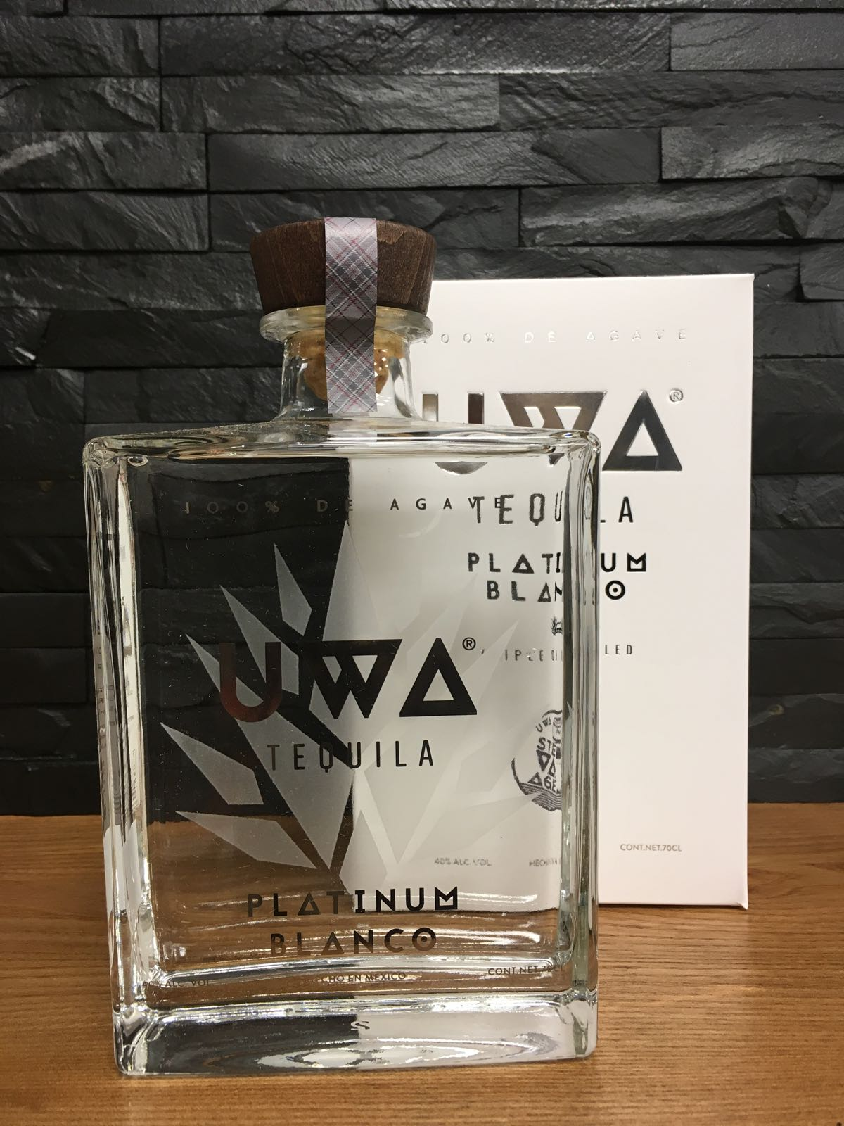 UWA Tequila Blanco 70cl