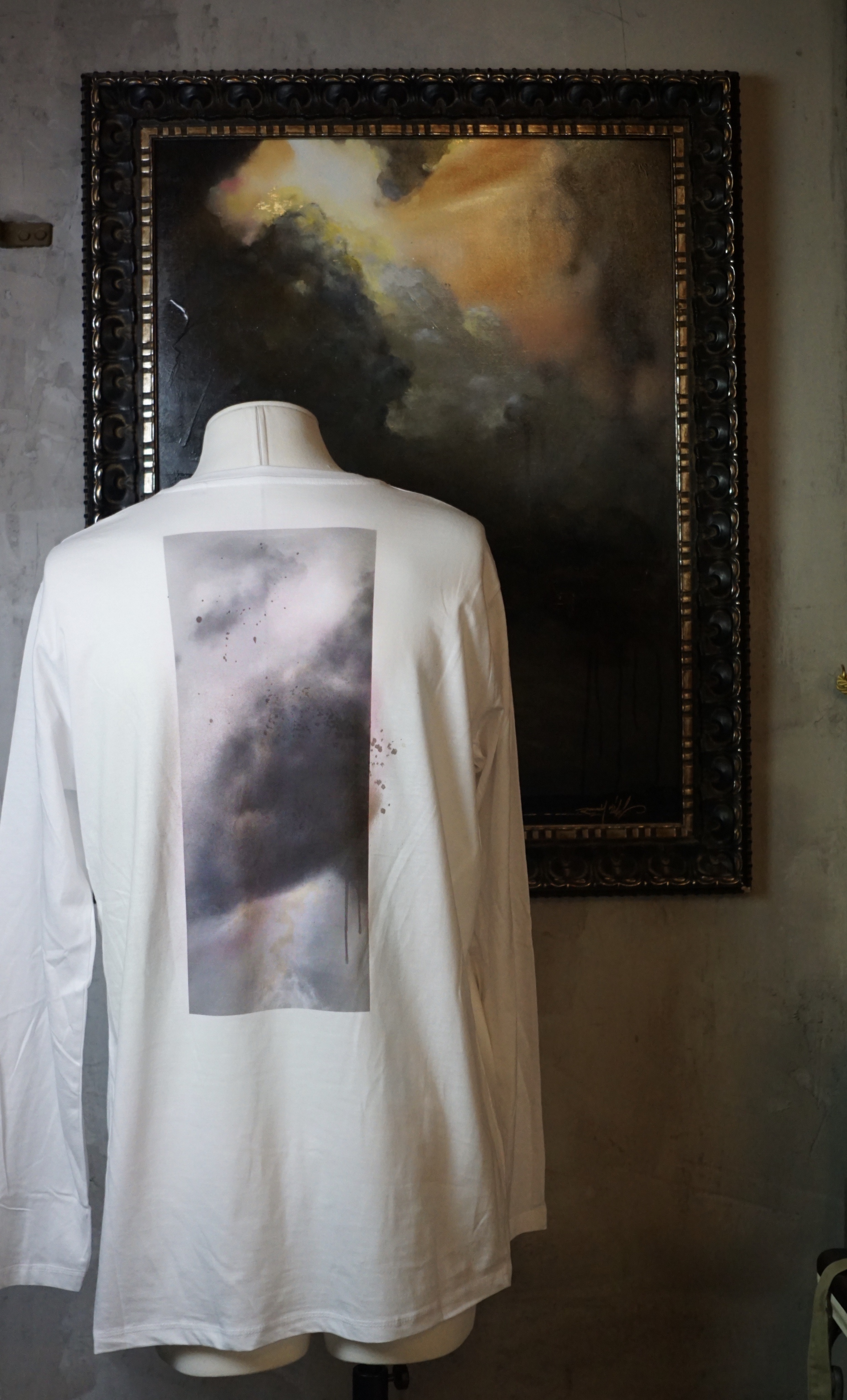 Sky long sleave t-shirt