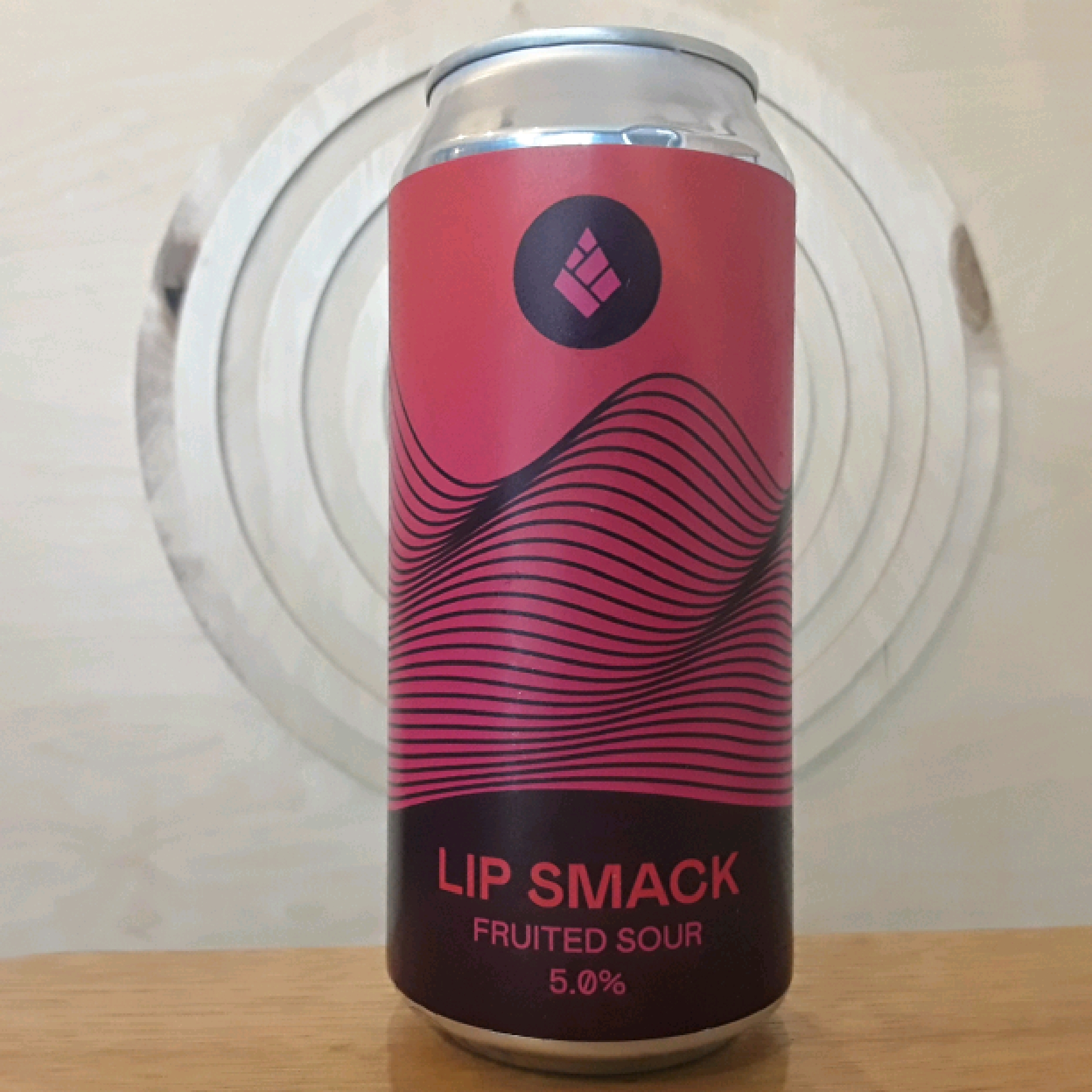 Drop Project Lip Smack Raspberry and Blackberry Fruited Sour