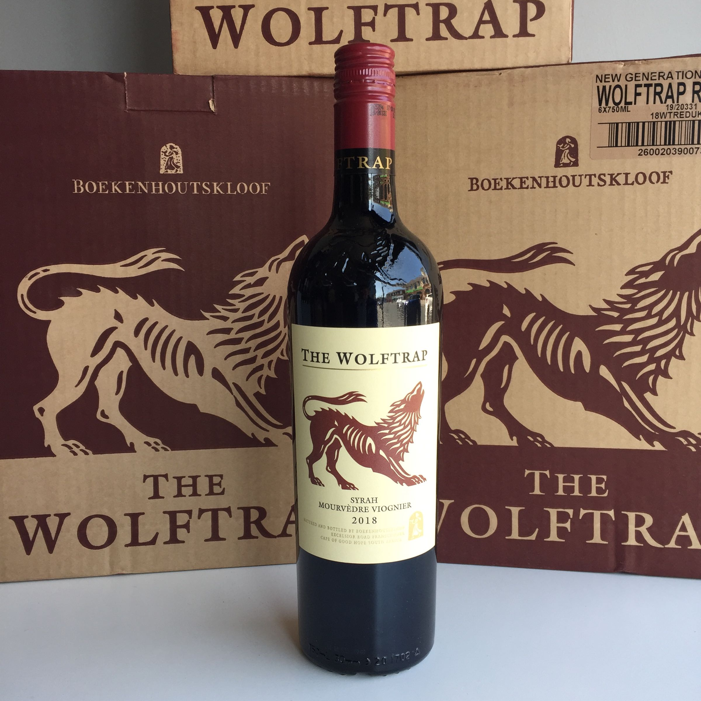 Boekenhoutskloof - The Wolftrap Red case deal