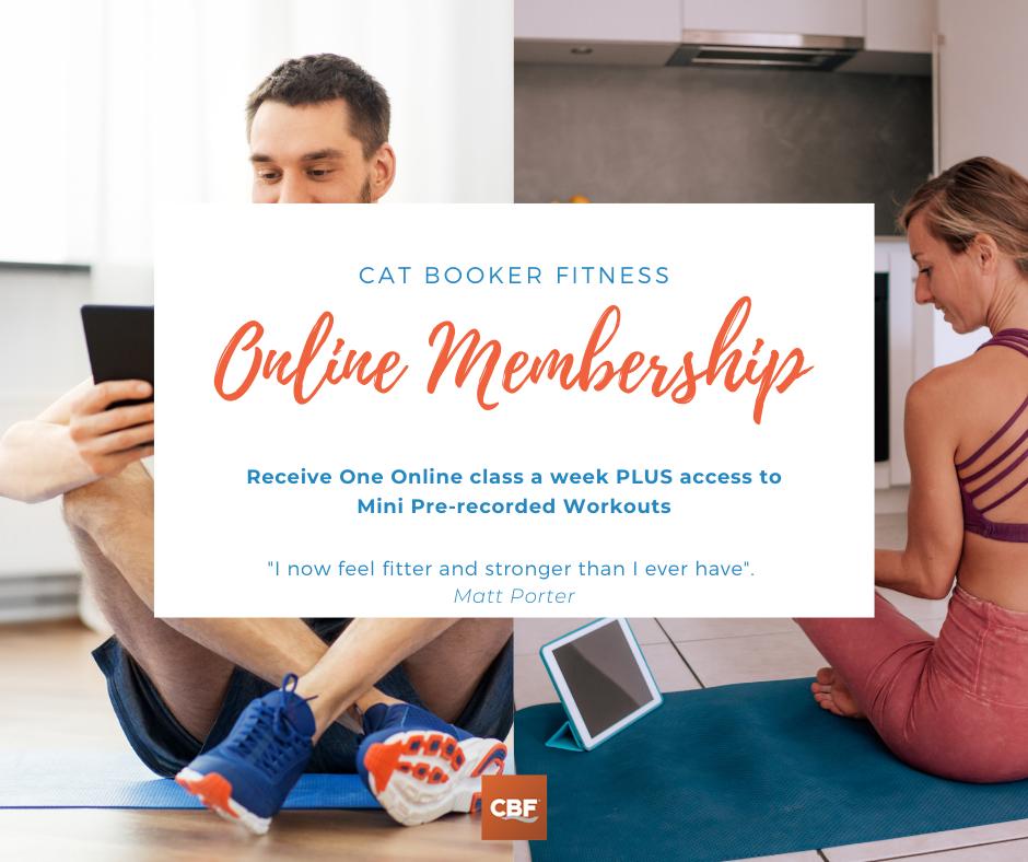 Online Pass Membership (Plus Pre-recorded Short Fitness Videos)