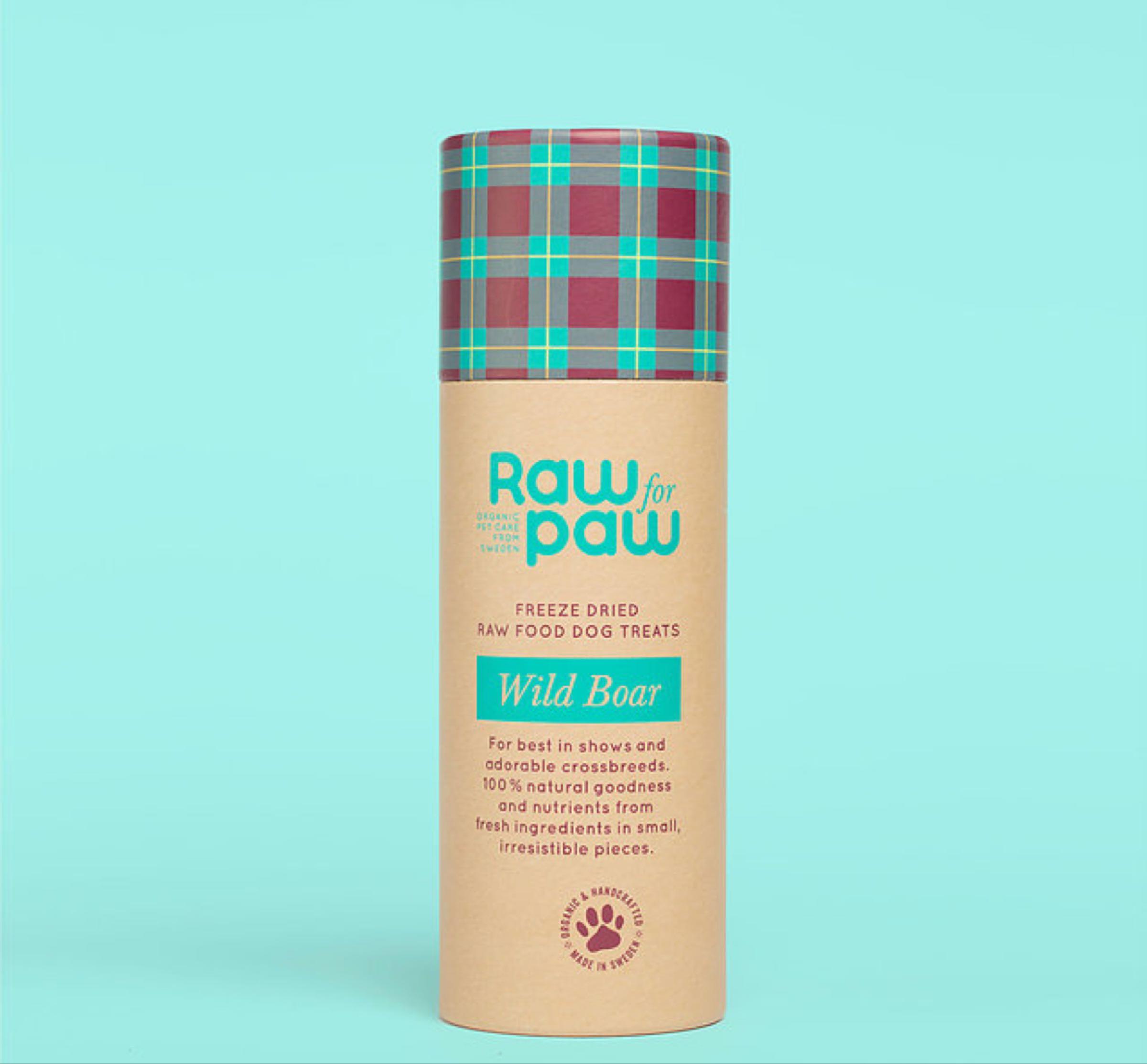 Raw for Paw Wild Boar - Vildsvin