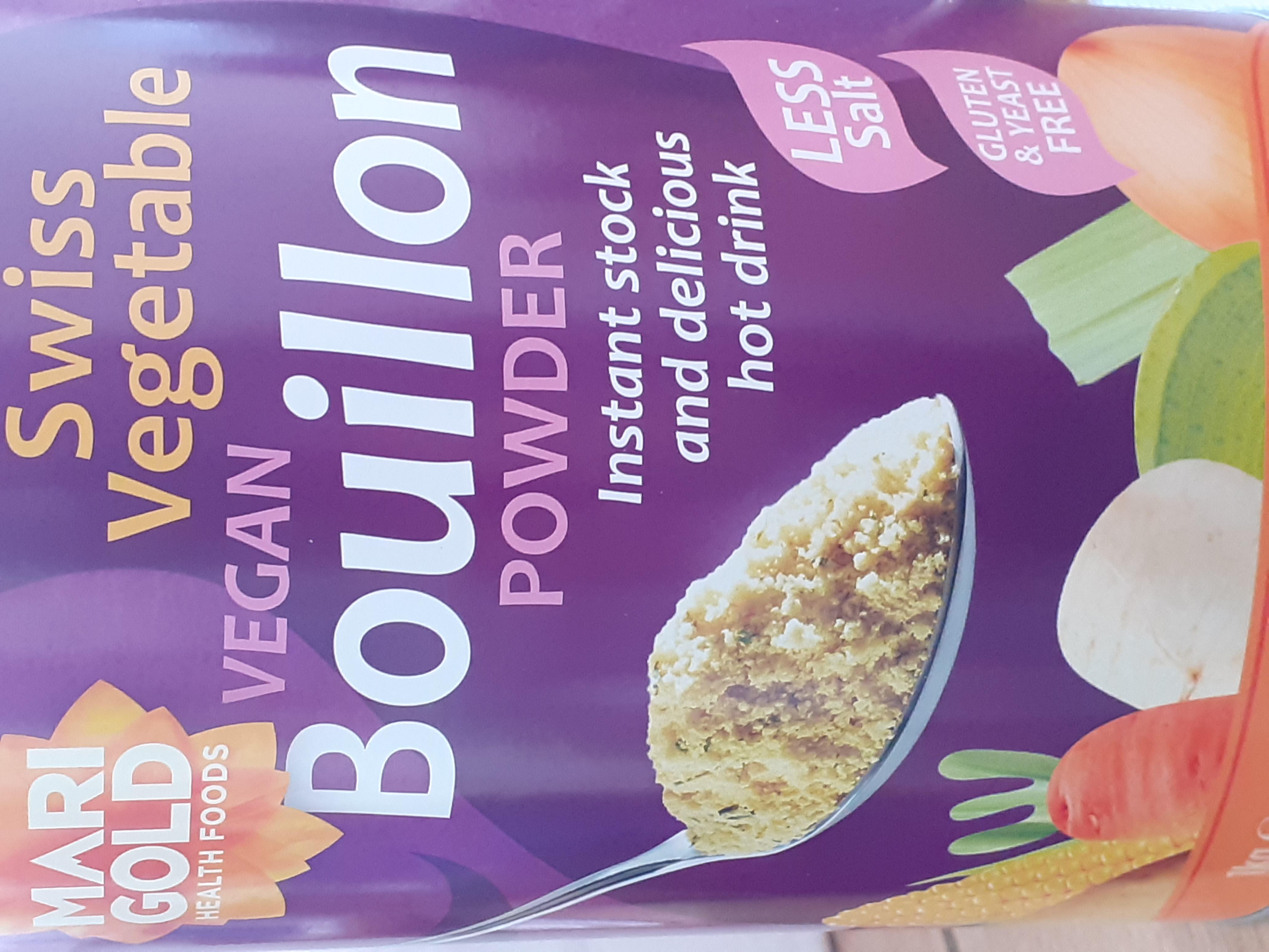 Bouillon - Vegan - Low Salt - Gluten Free- Yeast Free per 50g