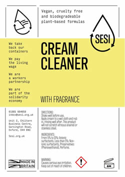 Cream Cleanser- per 100g