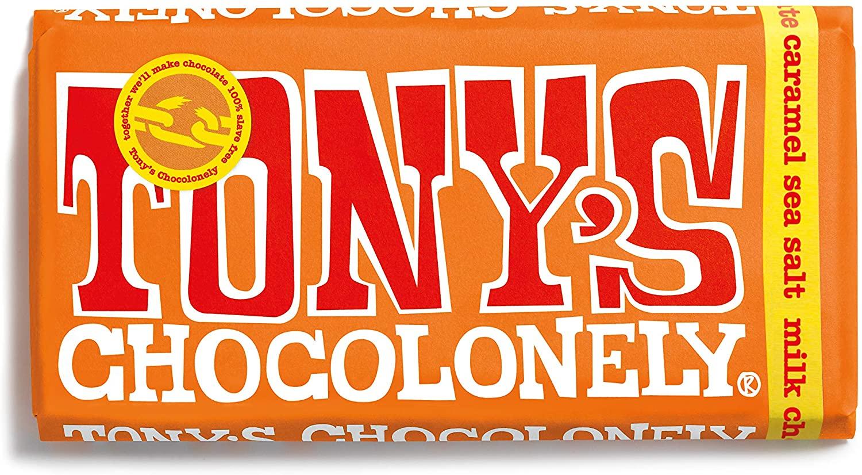 Tony's Chocolonely - Milk Chocolate Caramel Seasalt