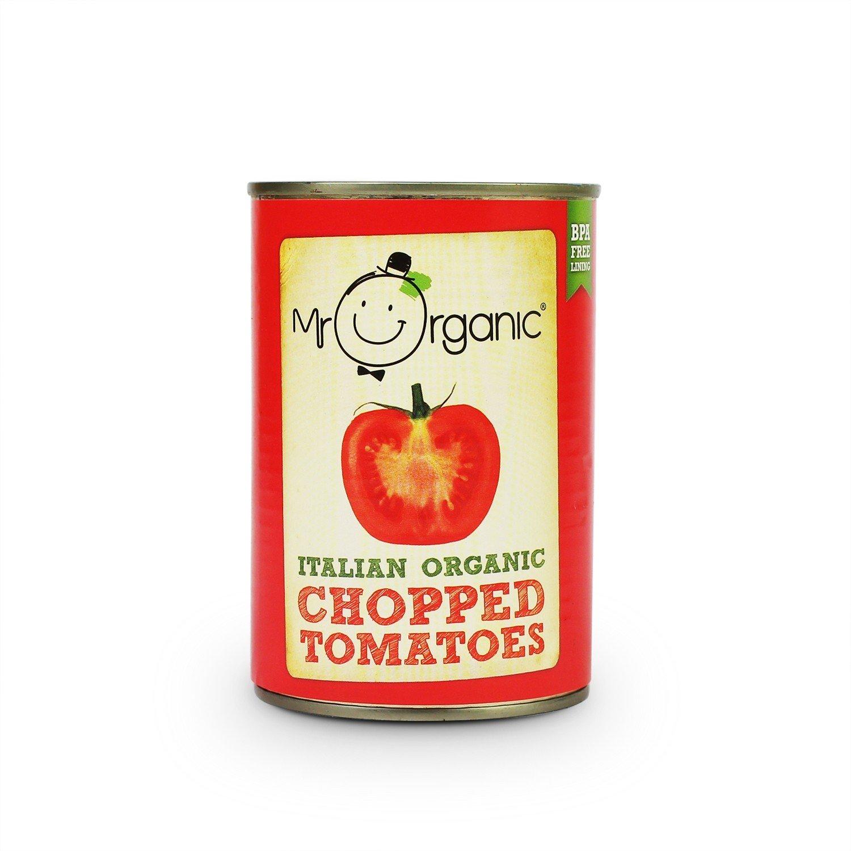 Organic  Chopped Tomatoes - 400g tin