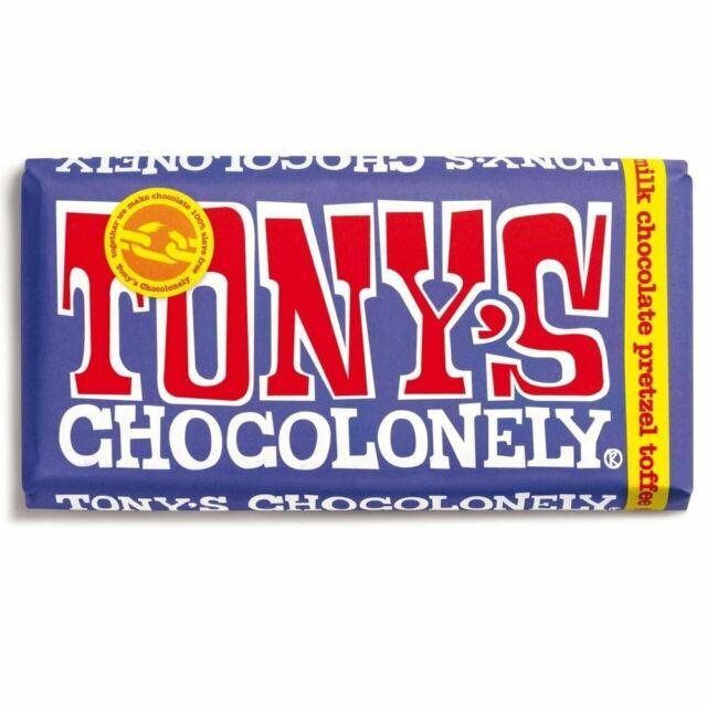 Tony's Chocolonely - Dark Milk Pretzel Toffee