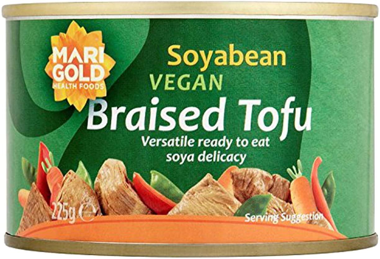 Tofu - Braised - per 225g tin- vegan