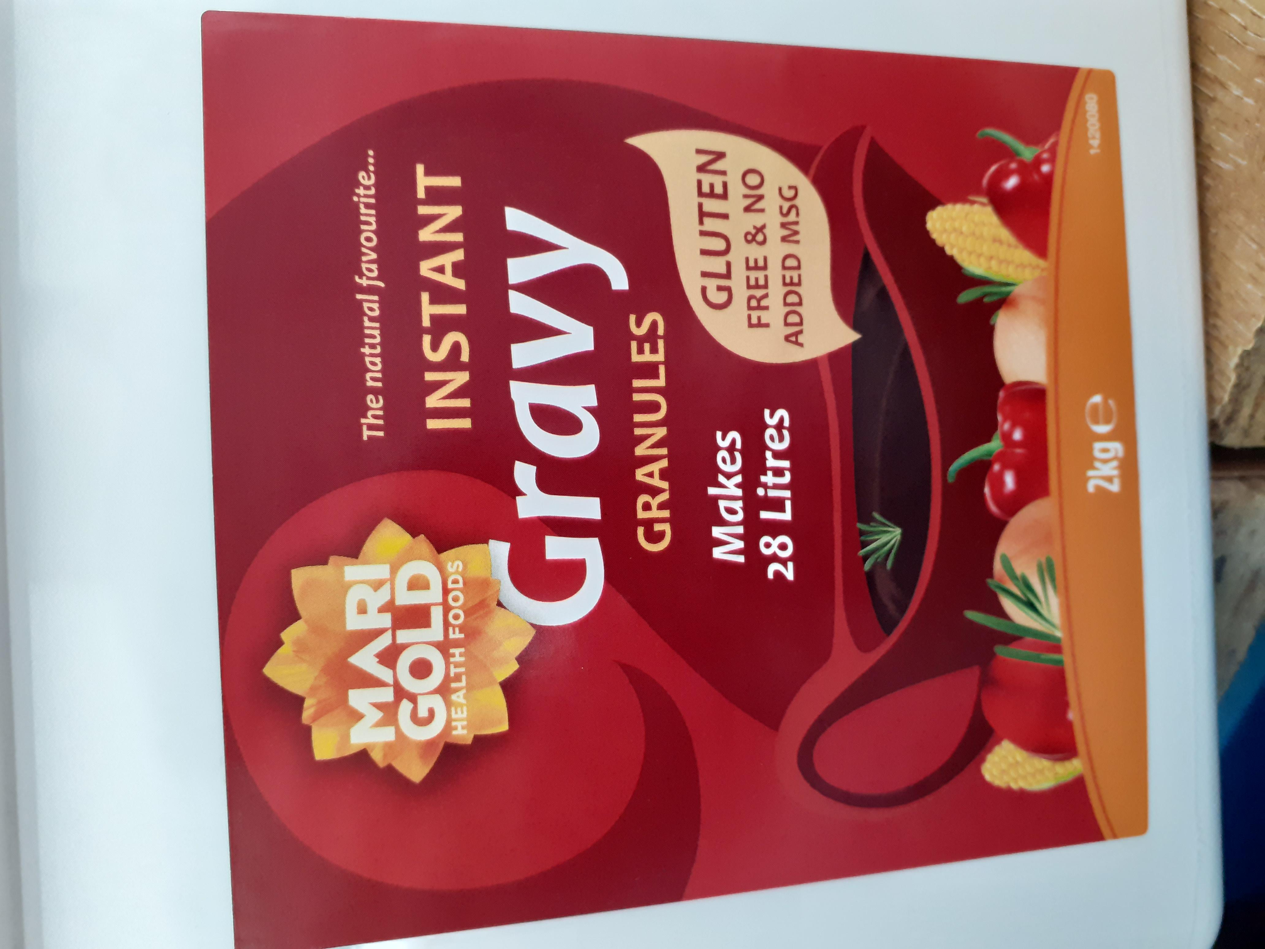 Gravy Granules - vegan - Gluten free - per 100g