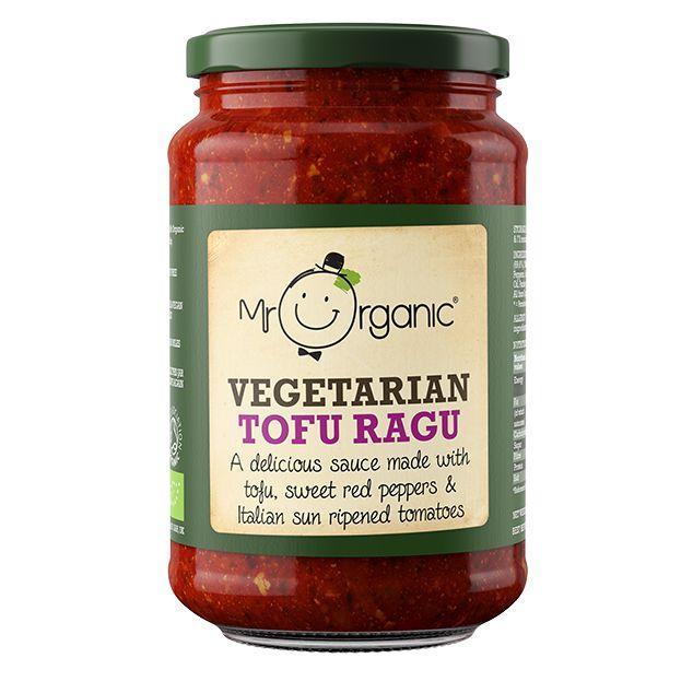Mr Organic Tofu Ragu - 350g Jar