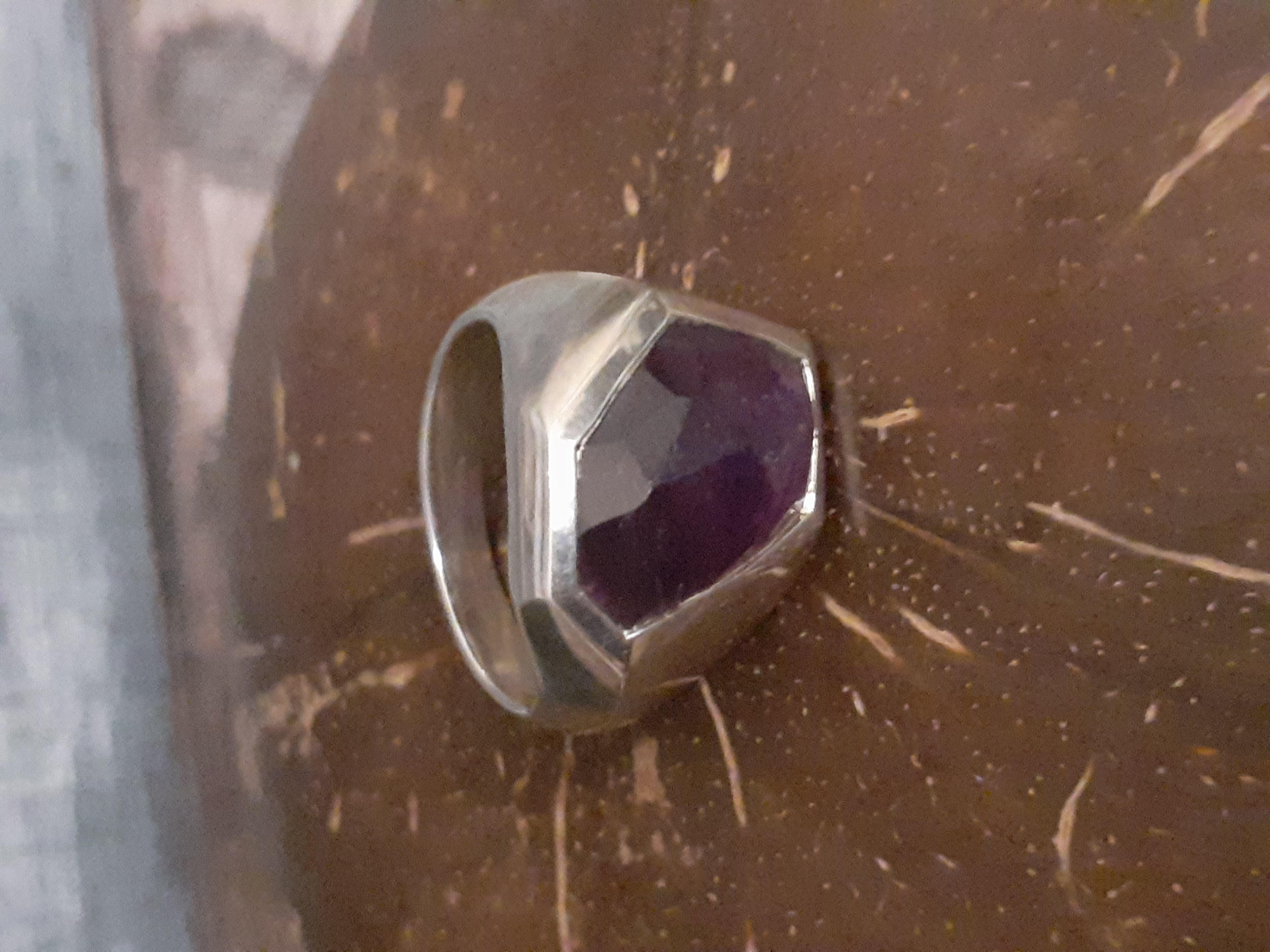Amethyst Ring (R8)