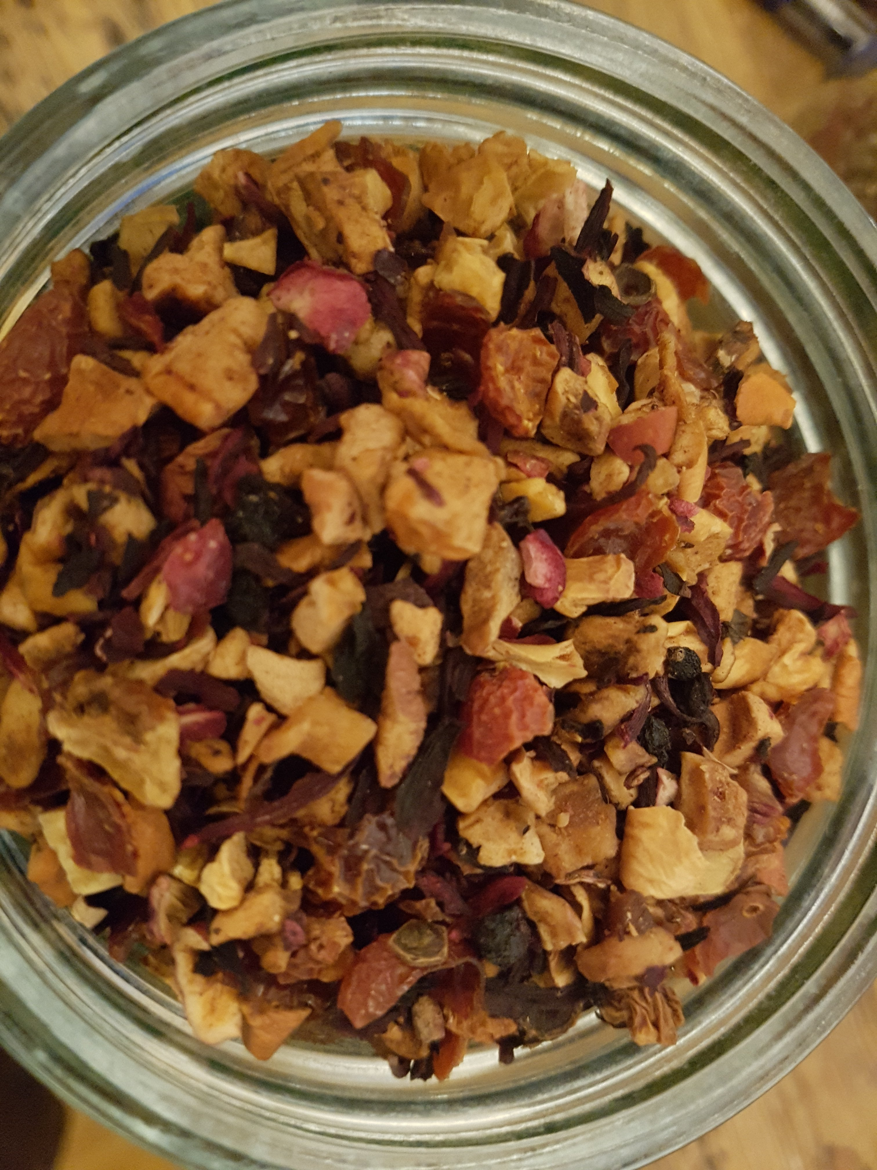 Apple and Cranberry Tea -per 50g