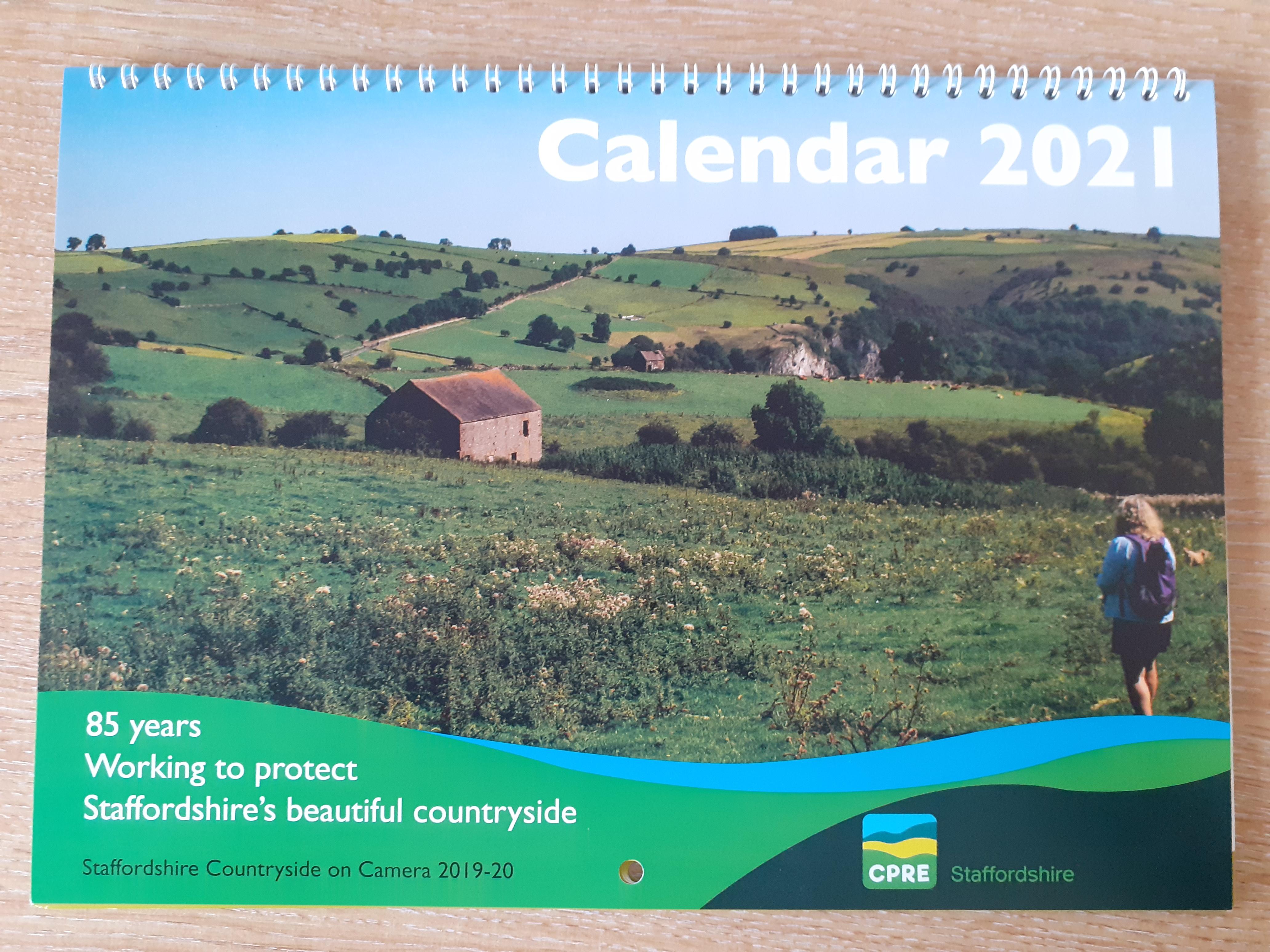 Countryside Calendar -2021