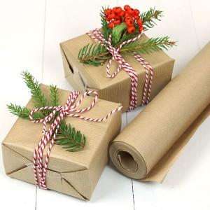 Wrapping paper x 4m.  (recycled)
