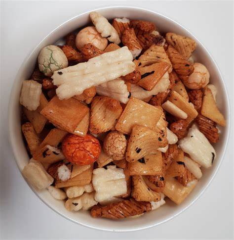 Japanese Rice Crackers - per 200g