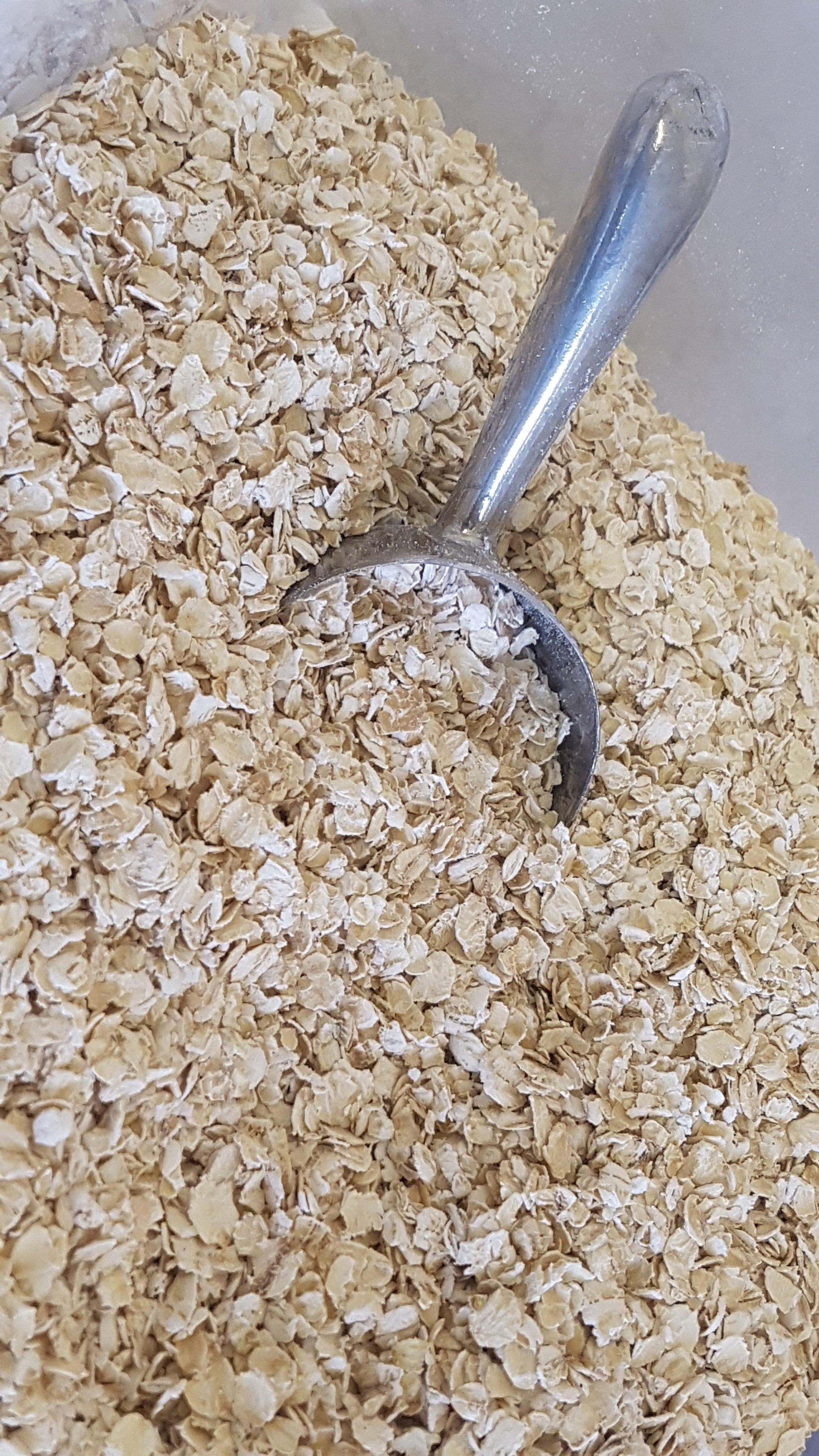 Gluten Free Rolled Oats Organic  - per 100g