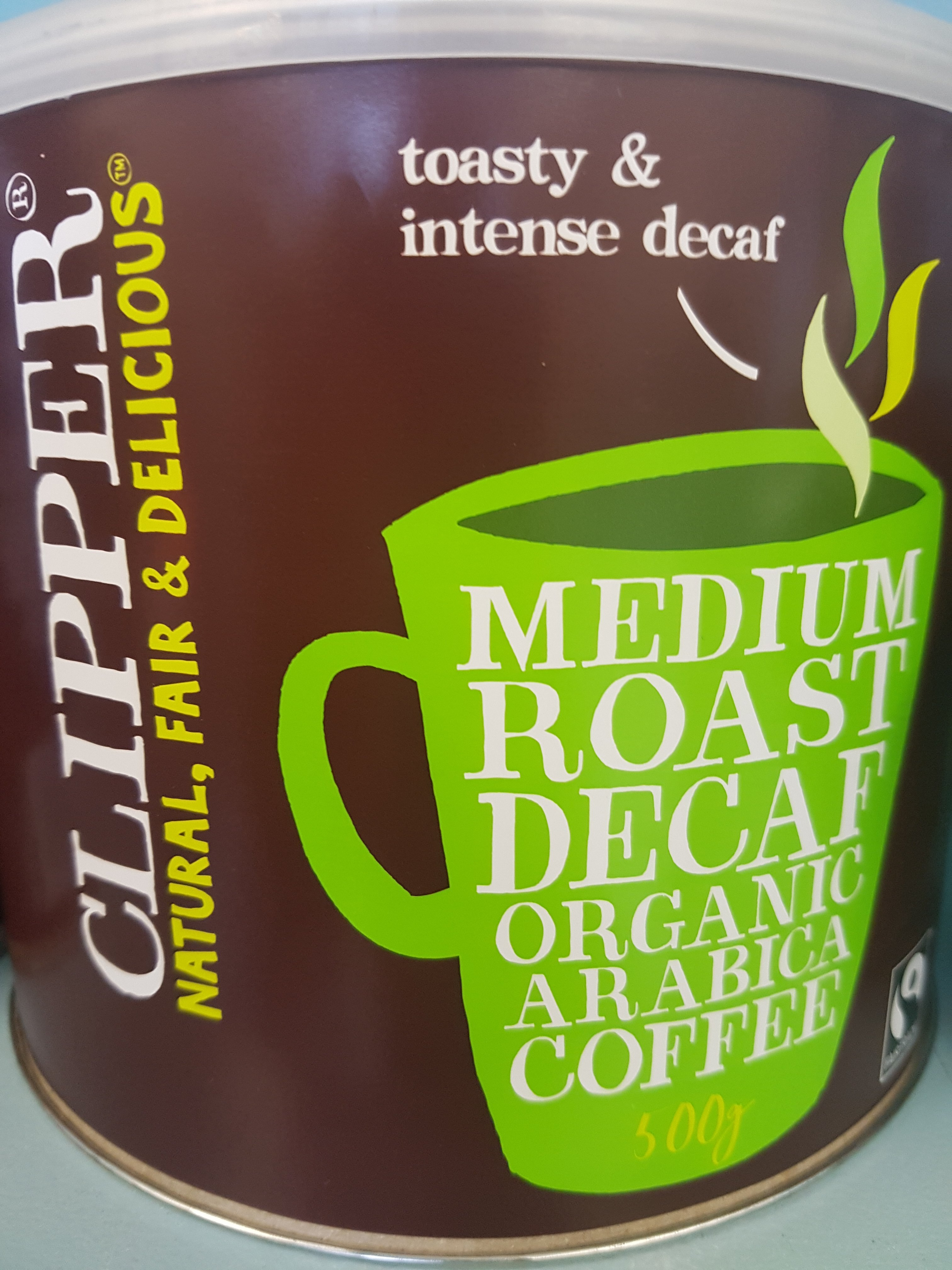 Instant decaf coffee- organic- 100g