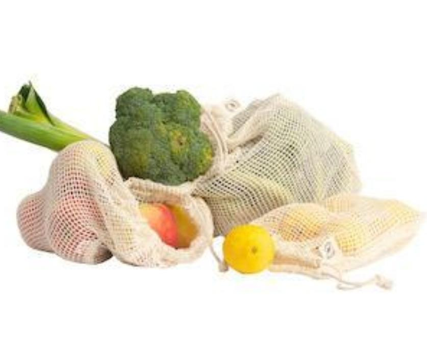 Organic mesh produce bag - medium