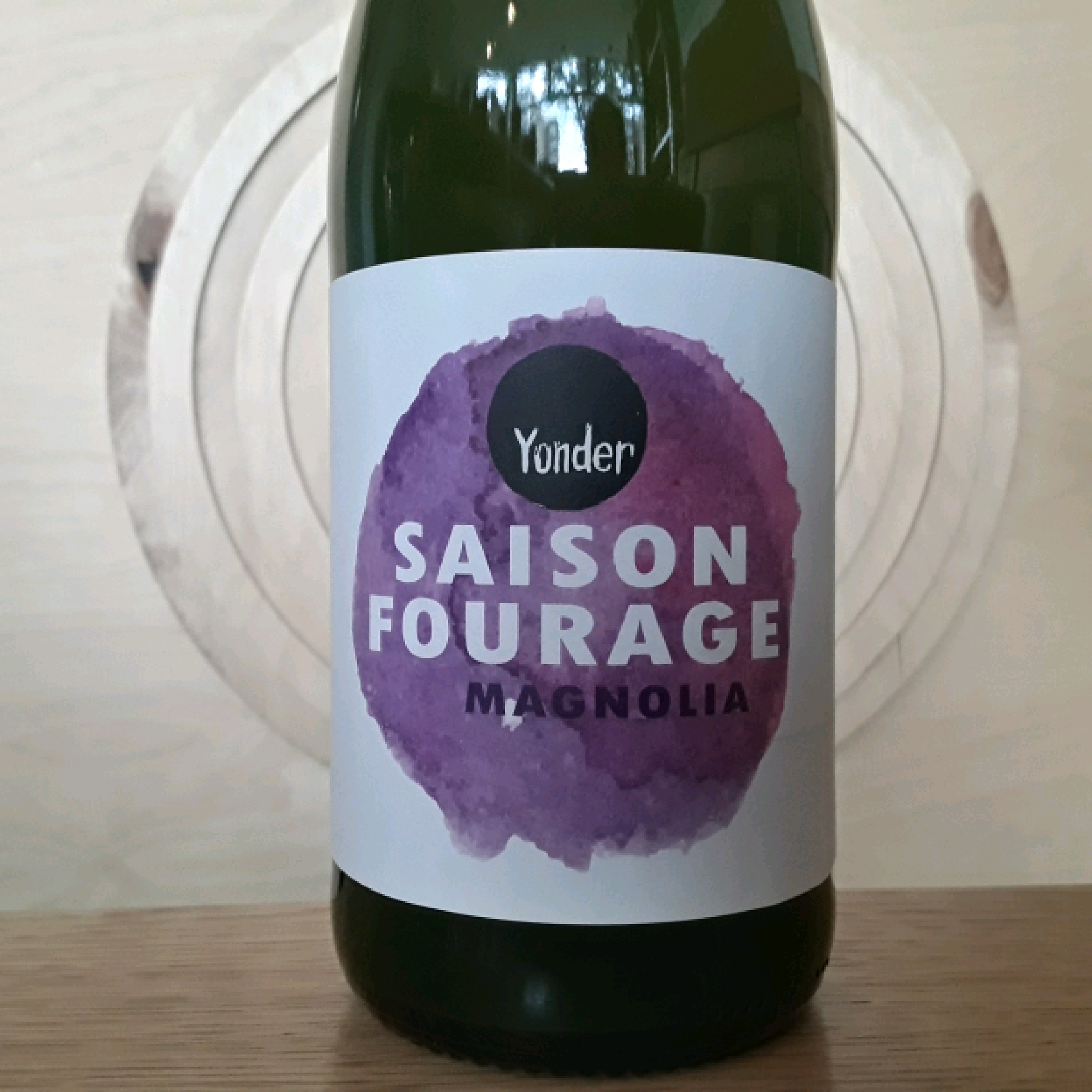 Brew Yonder | Saison Fourage Magnolia | Wild Ale
