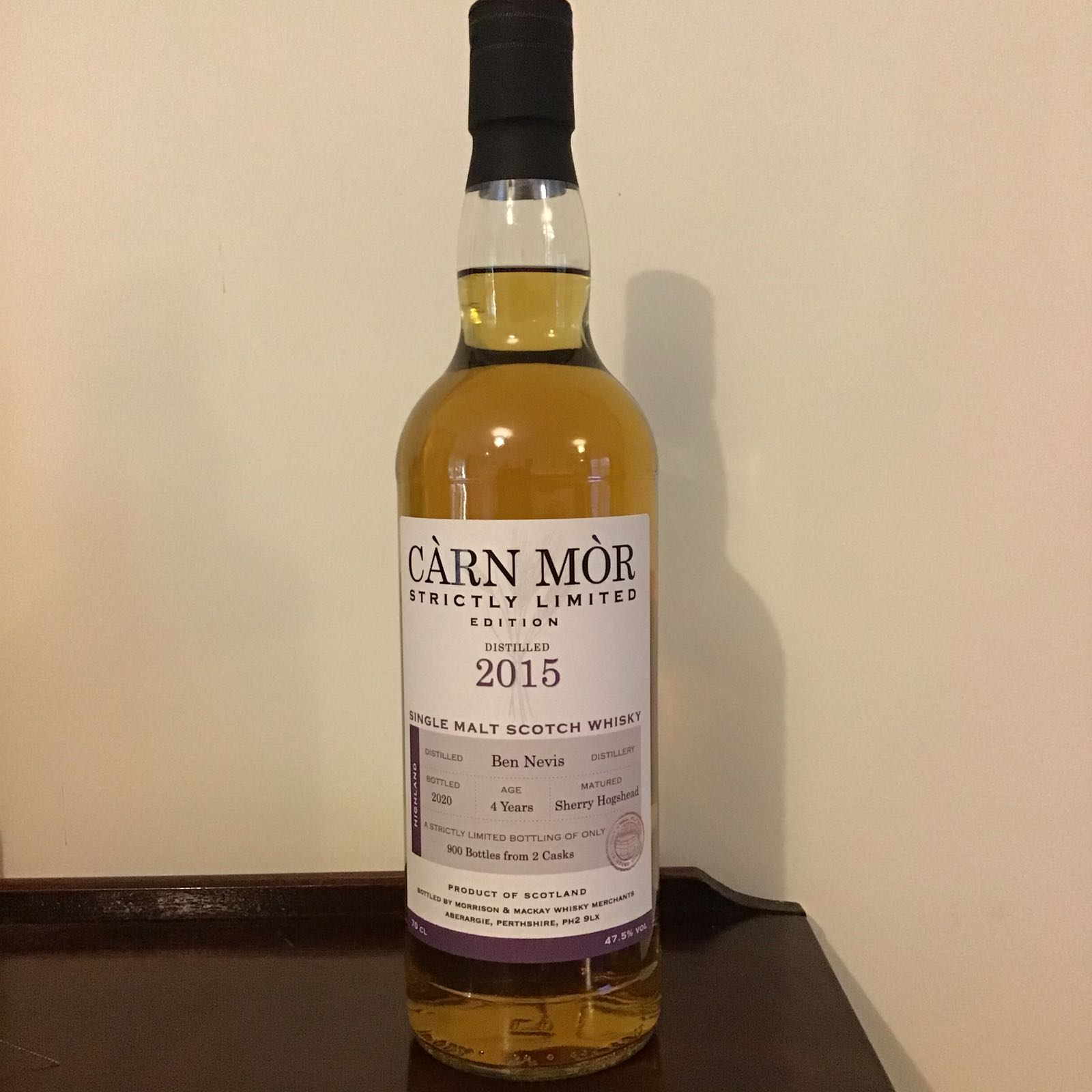 Carn Mor Strictly Limited: Ben Nevis 2015 (4yr old)