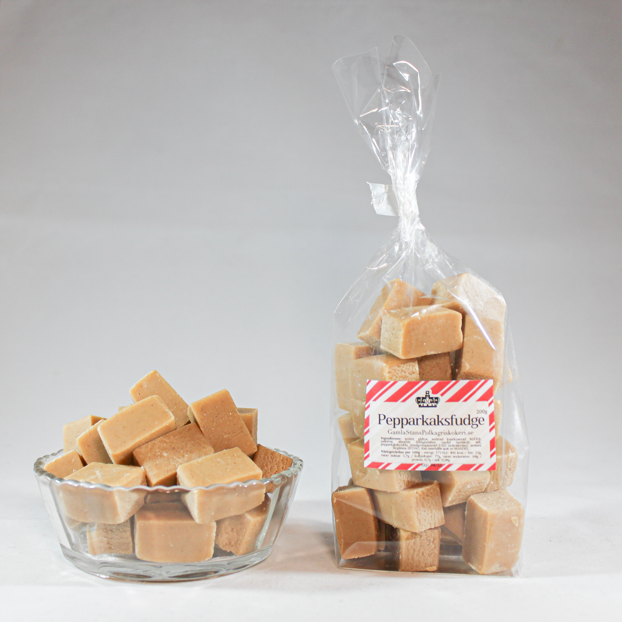 Pepparkaksfudge