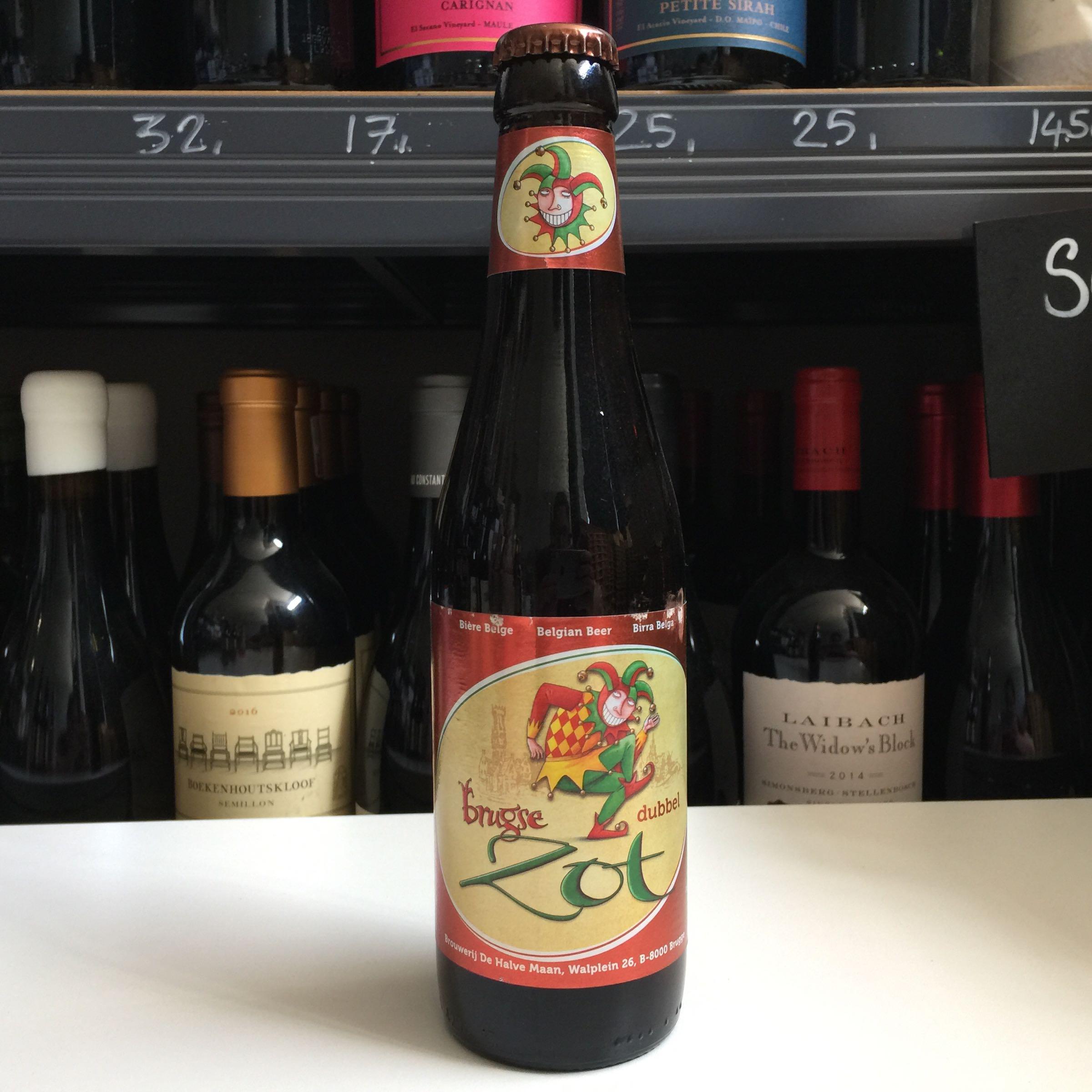 Brugse Zot Brune 'Strong Brown Belgium Beer' 33cl 7.5% ABV