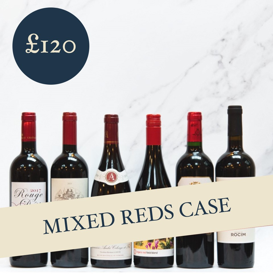 Mixed Reds Case £120