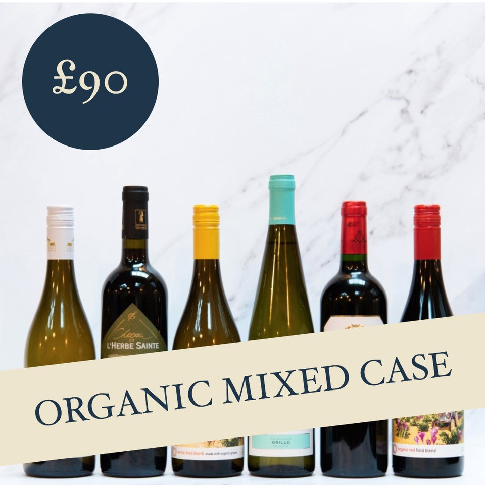 Organic Mixed Case £90