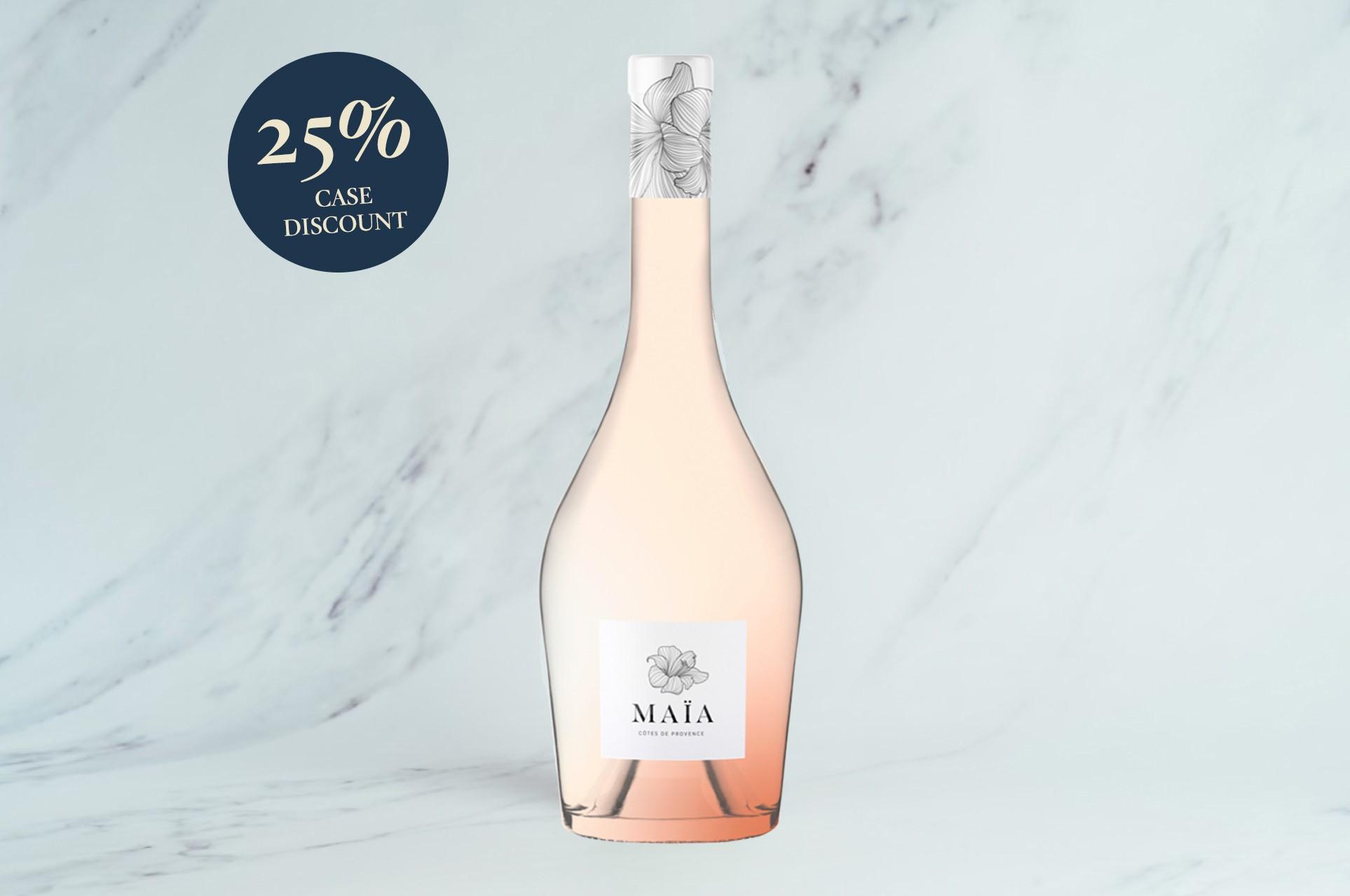 MAÏA Rosé, Côtes de Provence        (Launch 25% Case Discount)