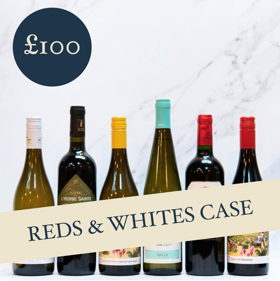 Mixed Reds & Whites Case £100