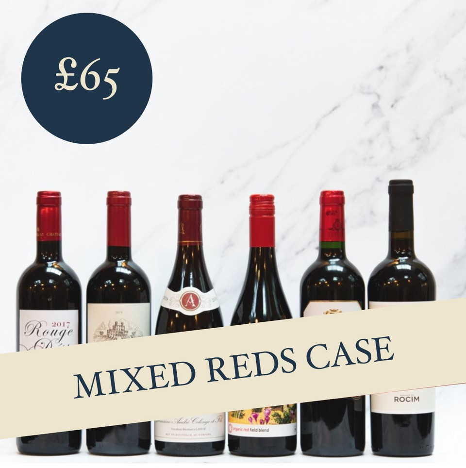 Mixed Reds Case £65