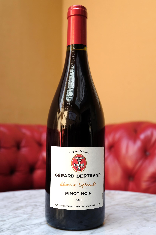 Pinot Noir, Reserve Speciale, Pays d'Oc, Gerard Bertrand