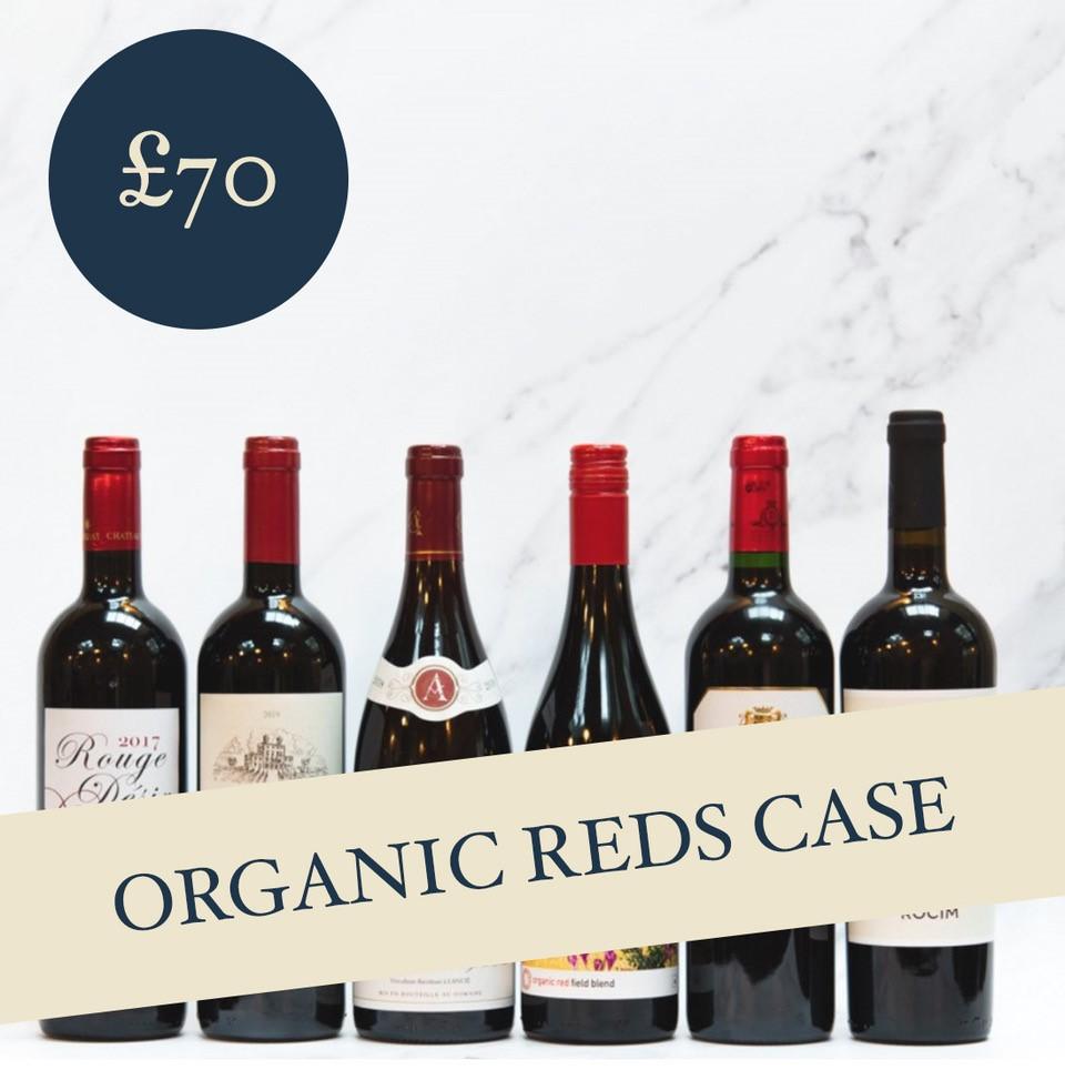 Organic Reds Case £70