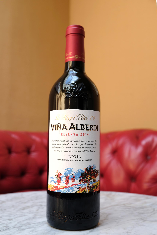 Vina Alberdi, Rioja Reserve, La Rioja Alta