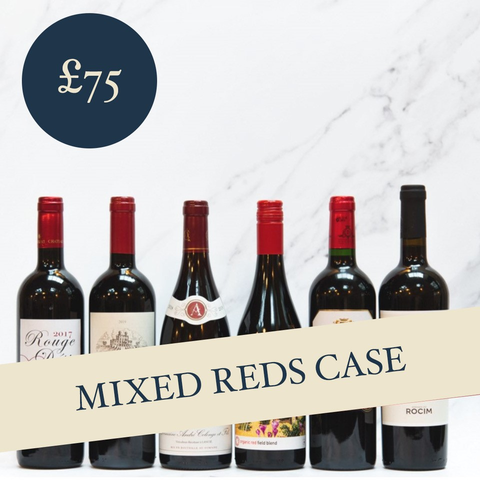 Mixed Reds Case £75