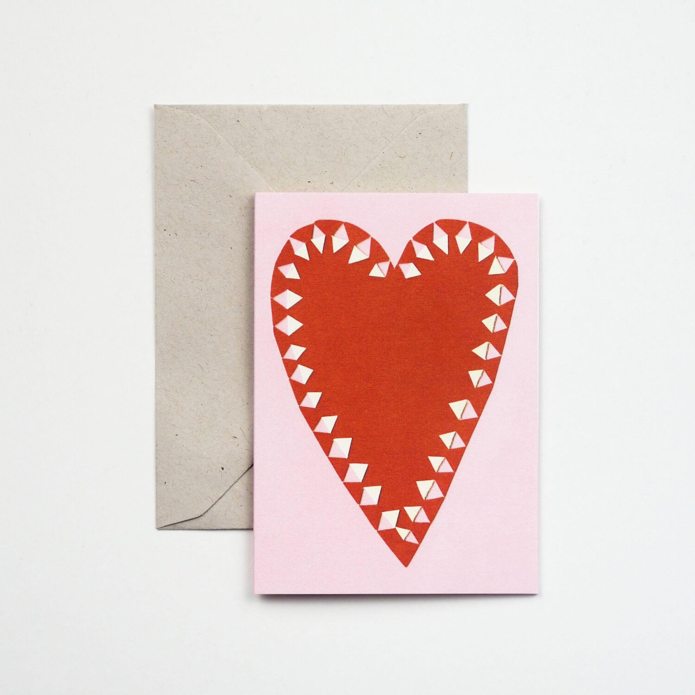 Little Heart Card by Hadley Paper Goods