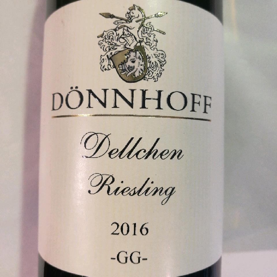 2016 Riesling 'Dellchen' Grosses Gewachs - Donnhoff