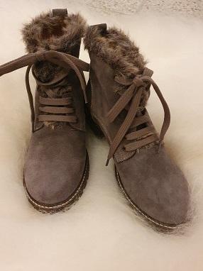 Maude skinn sko