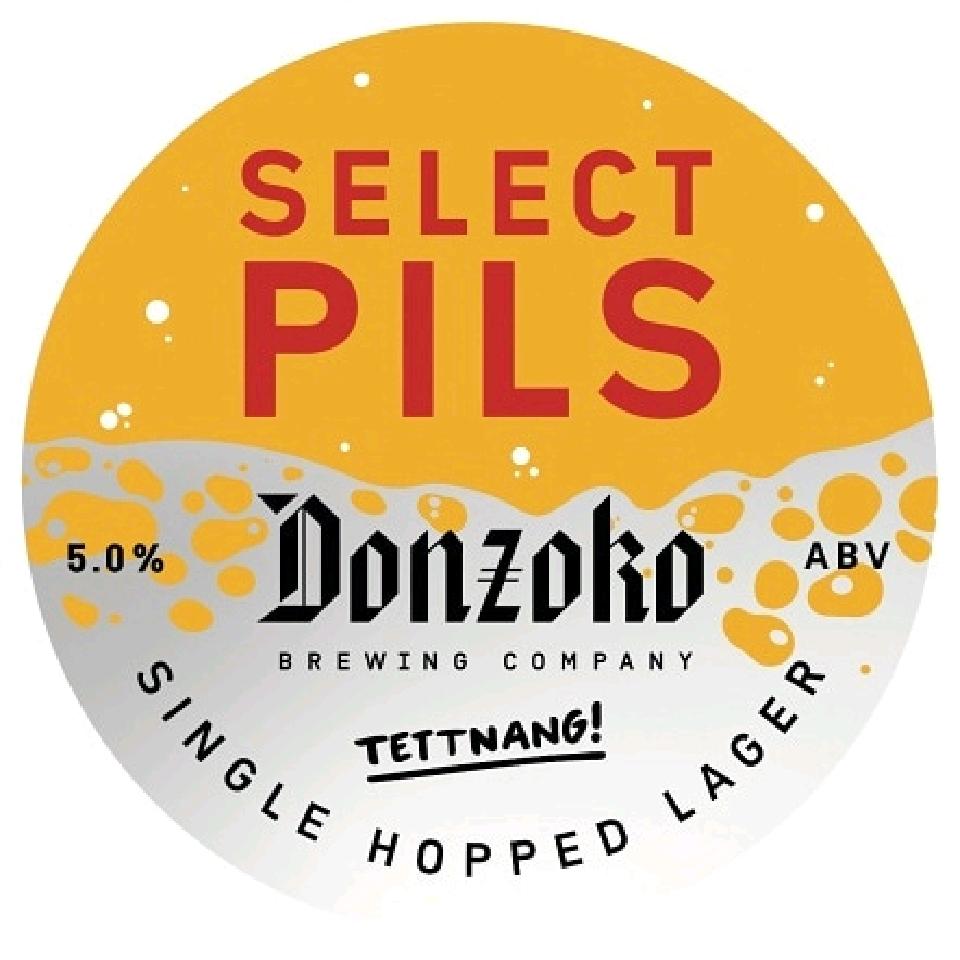 Donzoko Select Pils 1ltr + bottle