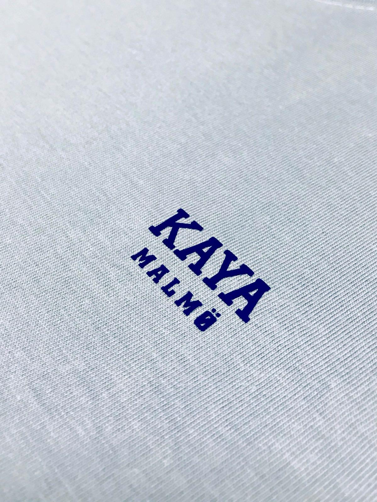 Himmelsblå Kaya Malmö Tee UNI