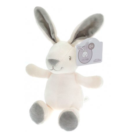 Bunny Soft Toy (White/Grey)