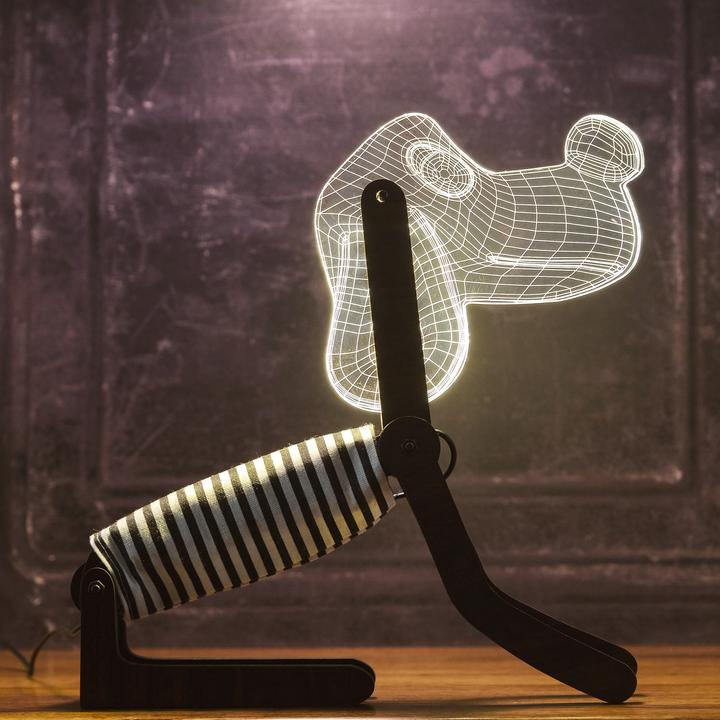 Dog Style Table Lamp