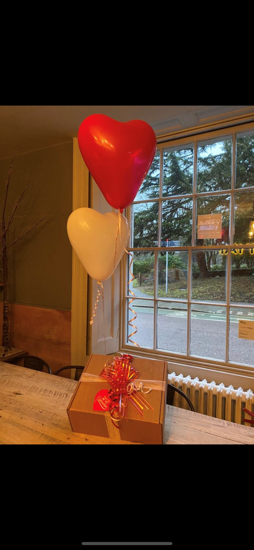 Valentines GIFT BOX Delivered Sunday 14th Feb
